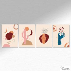 Kit De Placas Decorativas Conceptual Desert A4