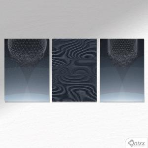 Kit De Placas Decorativas Disintegration A4
