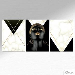 Kit De Placas Decorativas Ebony & Ivory A4 MDF 3mm 30X20CM 4x0 Adesivo Fosco Corte Reto Fita Dupla Face 3M