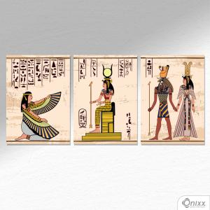 Kit De Placas Decorativas Egypt A4 MDF 3mm 30X20CM 4x0 Adesivo Fosco Corte Reto Fita Dupla Face 3M