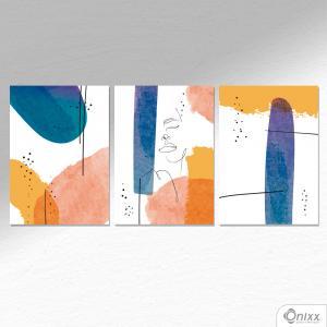 Kit De Placas Decorativas Feelings A4 MDF 3mm 30X20CM 4x0 Adesivo Fosco Corte Reto Fita Dupla Face 3M
