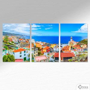 Kit De Placas Decorativas Ilhas Canárias Espanha A4