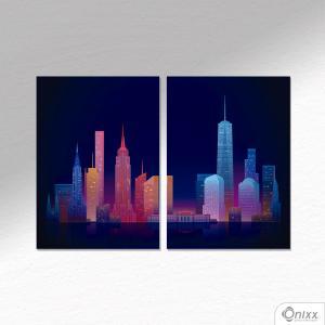 Kit De Placas Decorativas Landscape A4 MDF 3mm 30X20CM 4x0 Adesivo Fosco Corte Reto Fita Dupla Face 3M