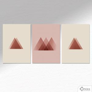 Kit De Placas Decorativas Poa Geométrico A4
