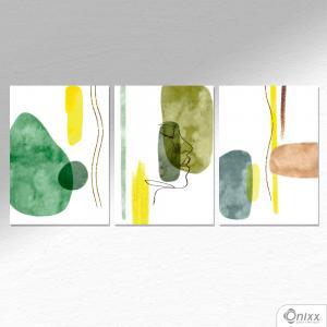 Kit De Placas Decorativas Sad Nature A4