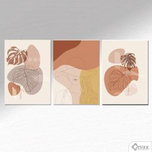 Kit De Placas Decorativas Tropical Beauty A4 MDF 3mm 30X20CM 4x0 Adesivo Fosco Corte Reto Fita Dupla Face 3M