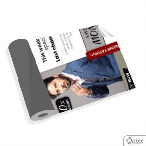 Lona Eco-Solvente Sem Acabamento M² Lona 380g  4x0 / Impressão Digital  Sem acabamento