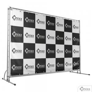 Lona Eco-Solvente M² Lona 380g  4x0 / Impressão Digital  Ilhós 0