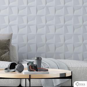 Papel de Parede Adesivo 3D Estilo Bloco Adesivo Vinílico 0,10 58x300cm 4x0 / Impressão Digital Látex Fosco Divididos em Rolos de 58cm