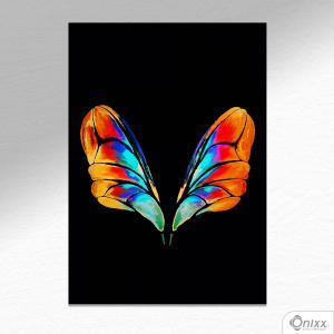 Placa Decorativa Buterfly Wings A4 MDF 3mm 30X20CM 4x0 Adesivo Fosco Corte Reto Fita Dupla Face 3M