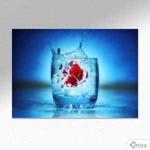 Placa Decorativa Fiorin Drink A4 MDF 3mm 30X20CM 4x0 Adesivo Fosco Corte Reto Fita Dupla Face 3M