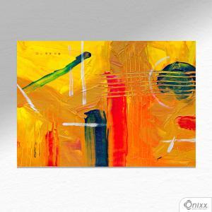 Placa Decorativa Yellow Artist A4 MDF 3mm 30X20CM 4x0 Adesivo Fosco Corte Reto Fita Dupla Face 3M