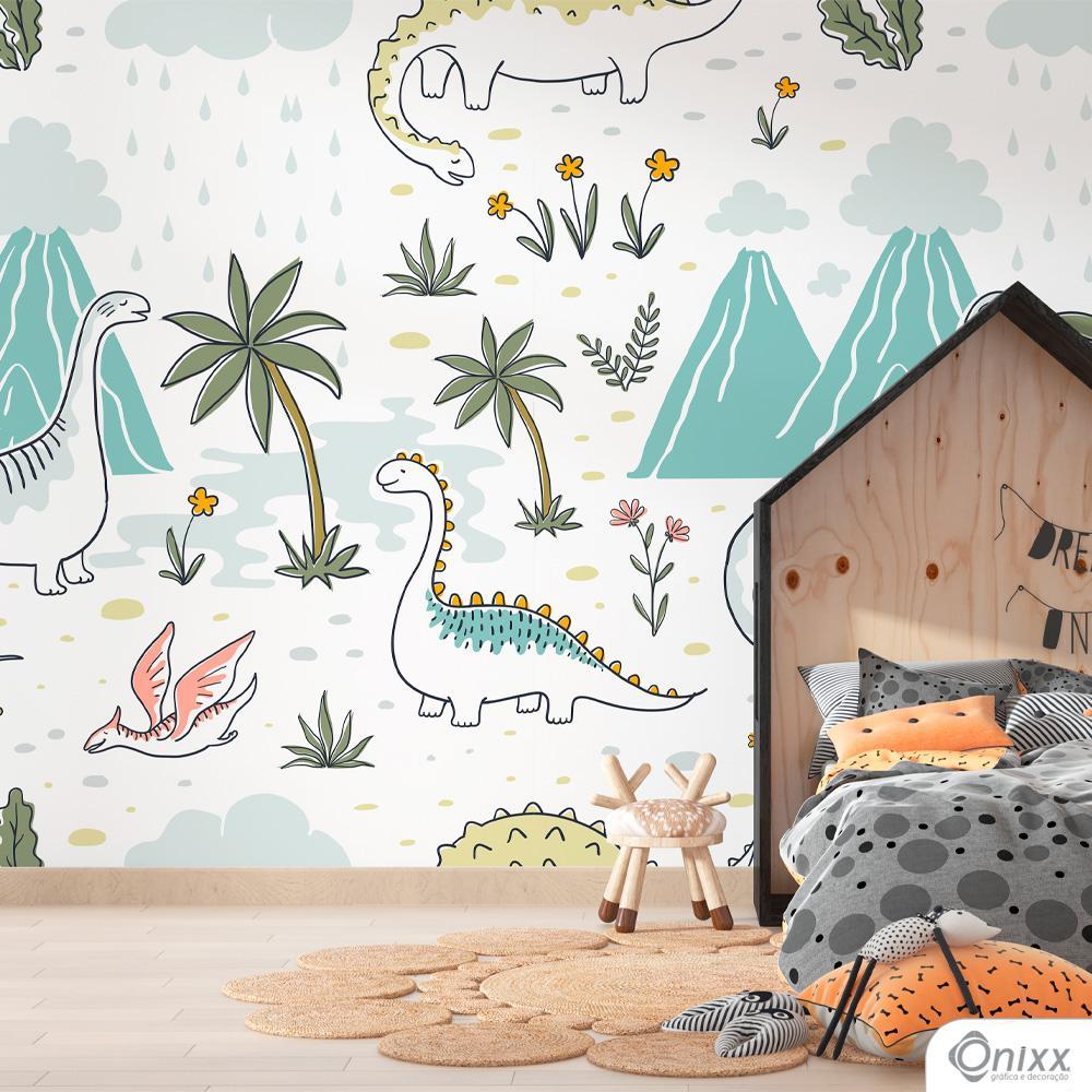 Painel Adesivo Mundo Dino