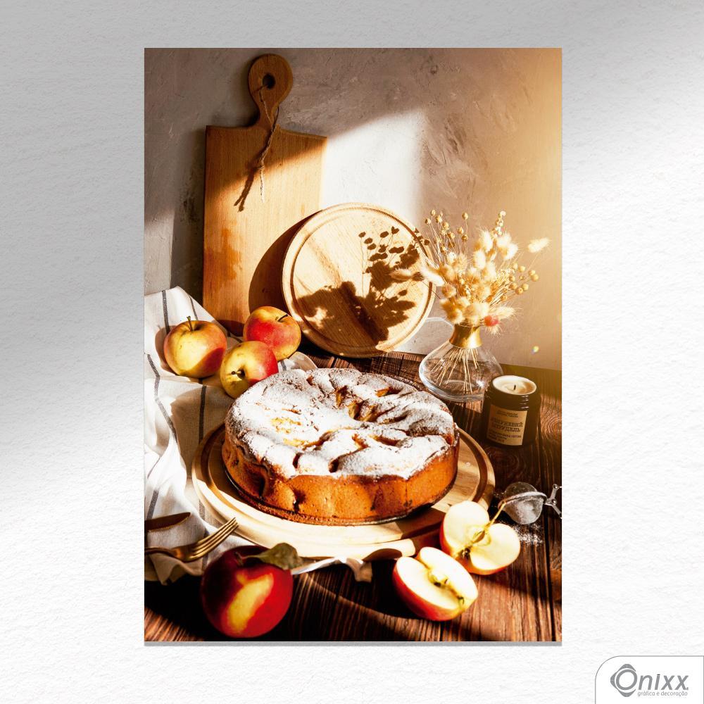 Placa Decorativa Apple Pie A4