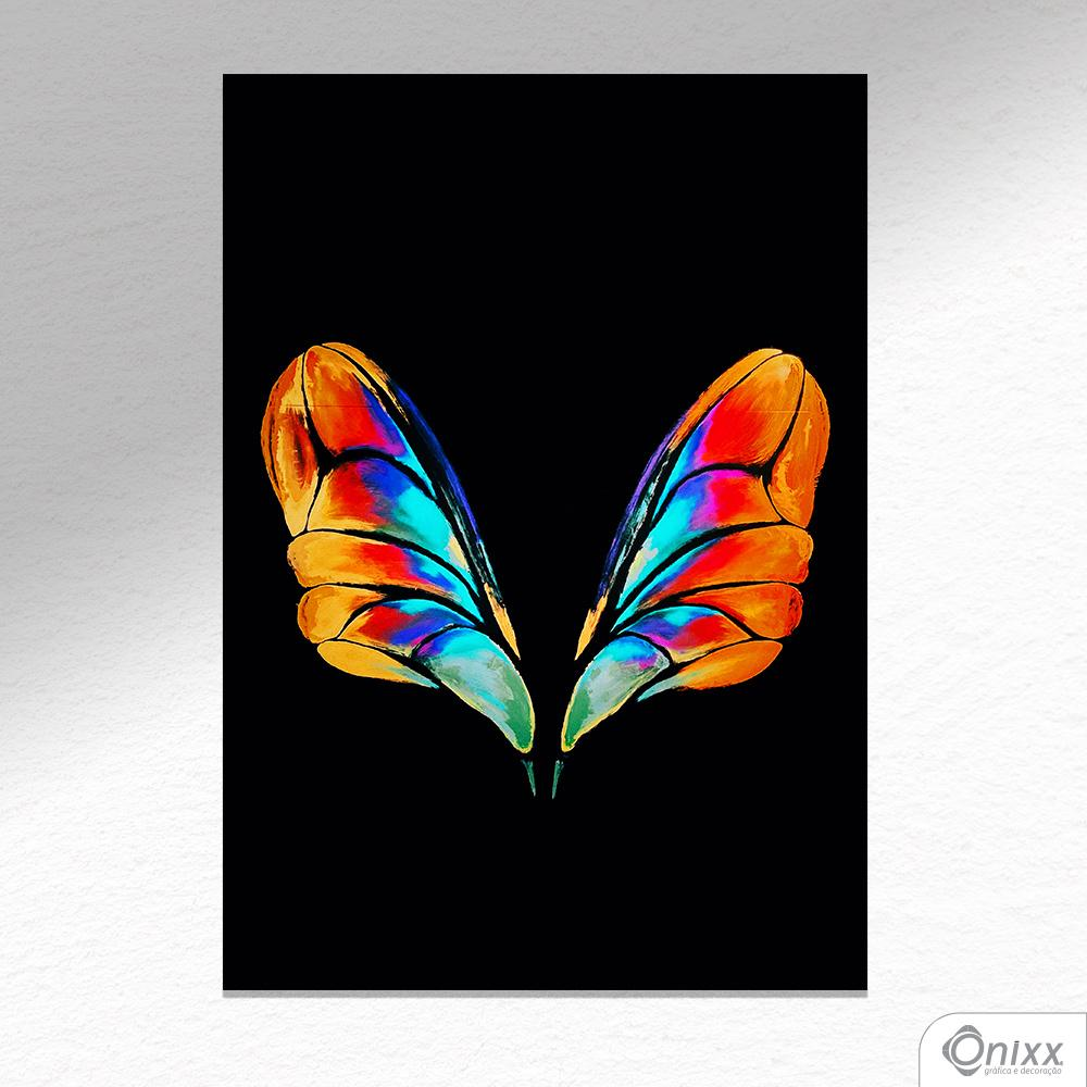 Placa Decorativa Buterfly Wings A4