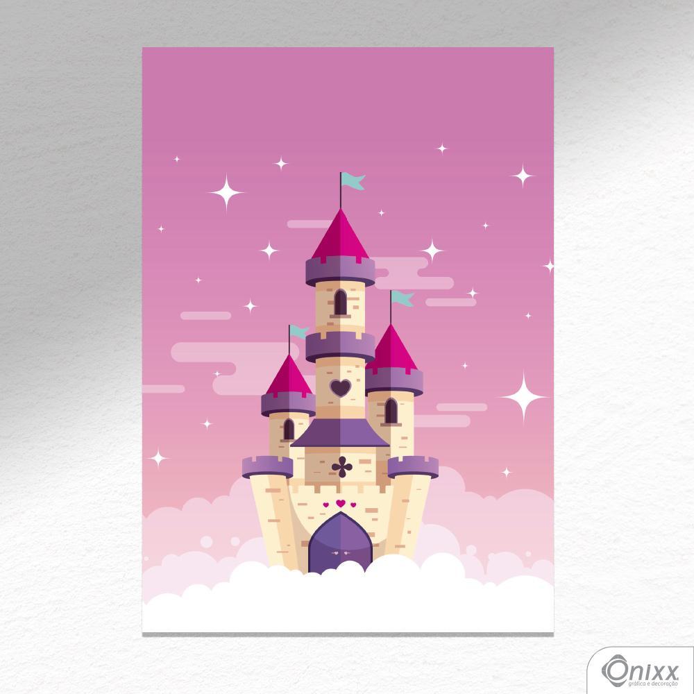 Placa Decorativa Castelo Encantado A4