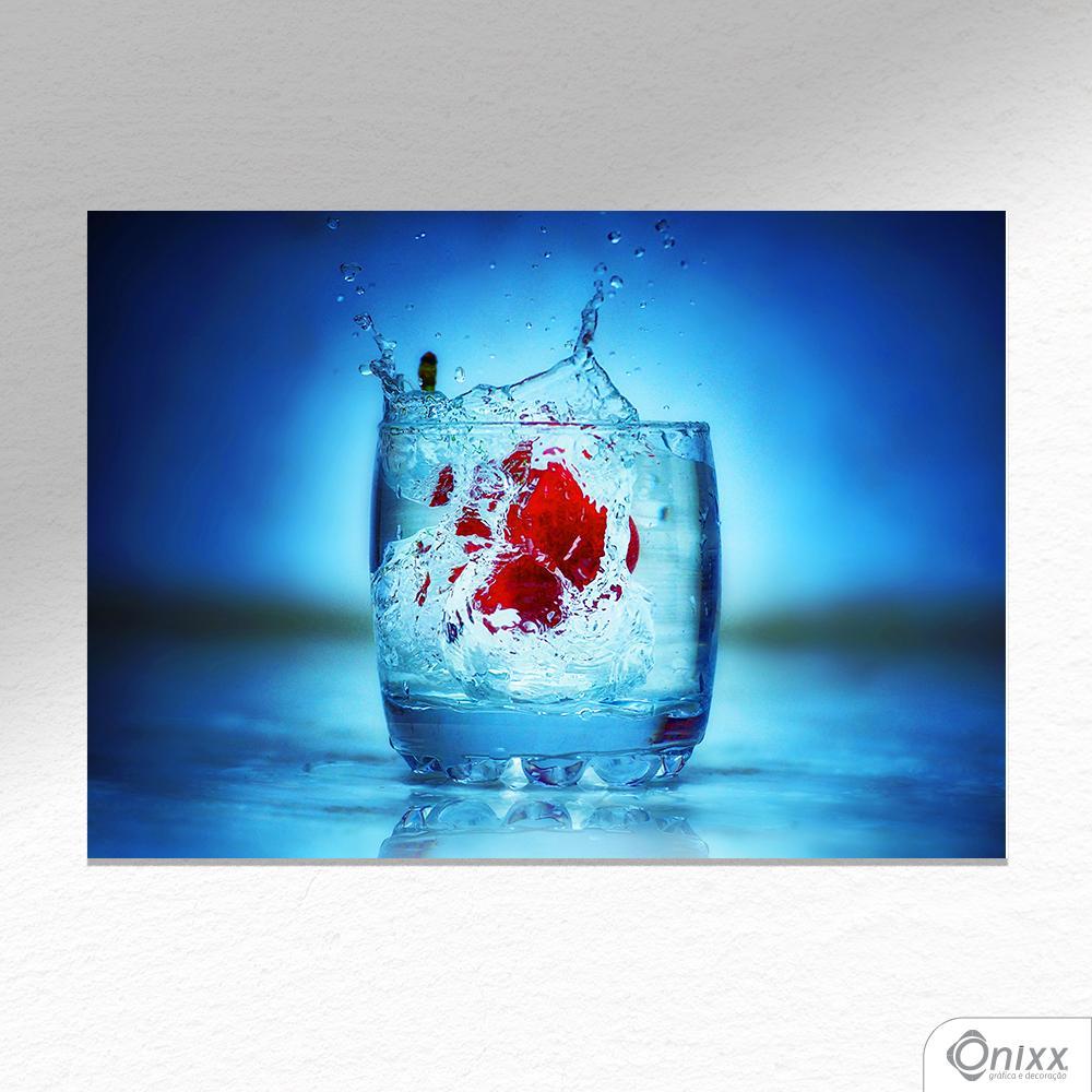 Placa Decorativa Fiorin Drink A4
