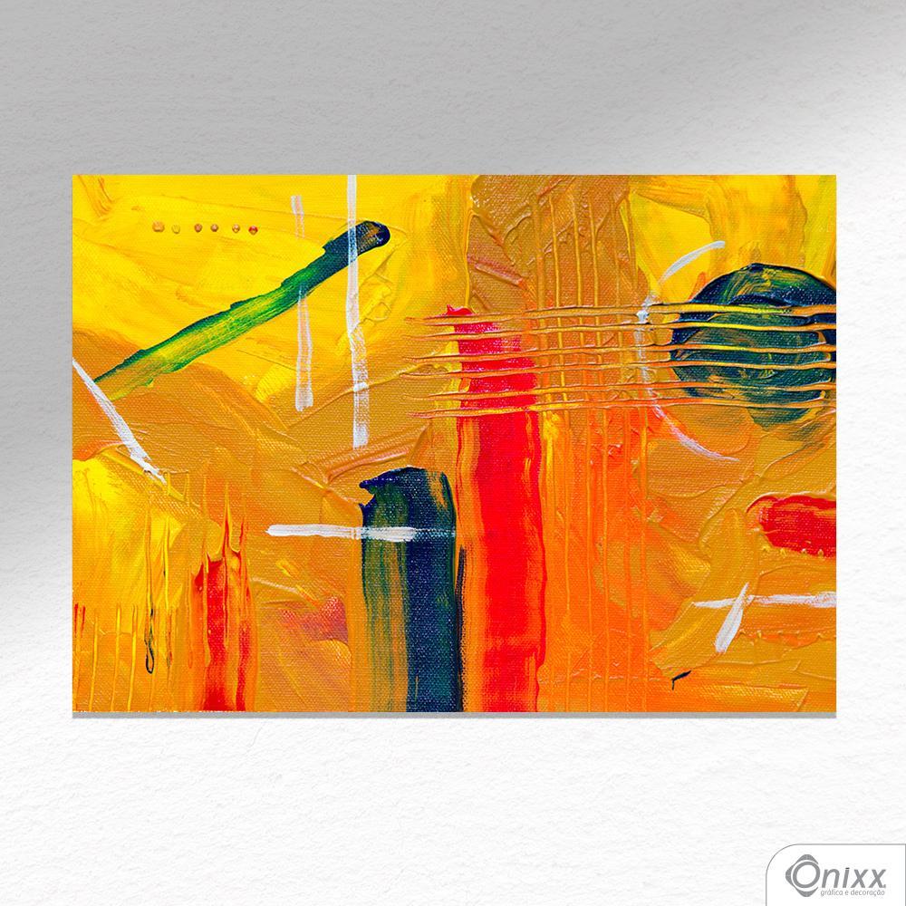 Placa Decorativa Yellow Artist A4