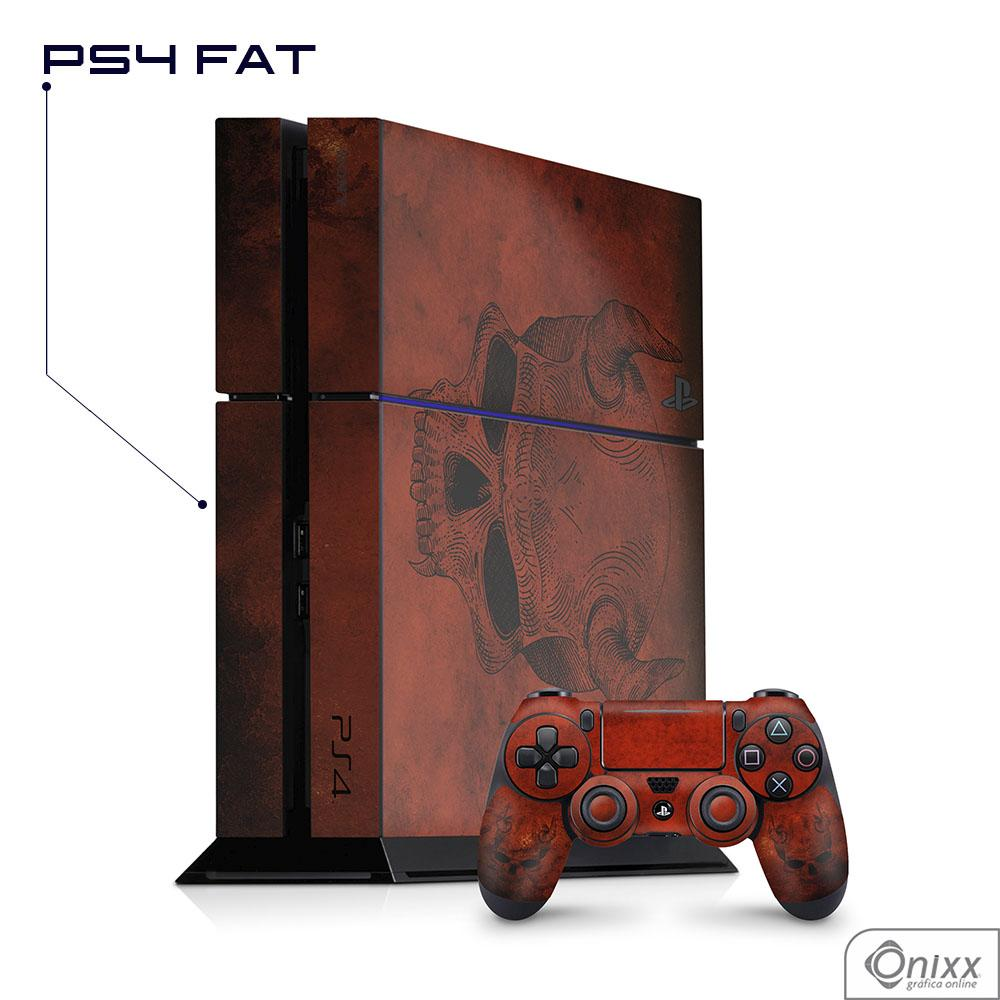Skin Game Adesiva PS4 FAT Evil Skull